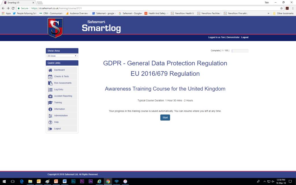 Online GDPR Training