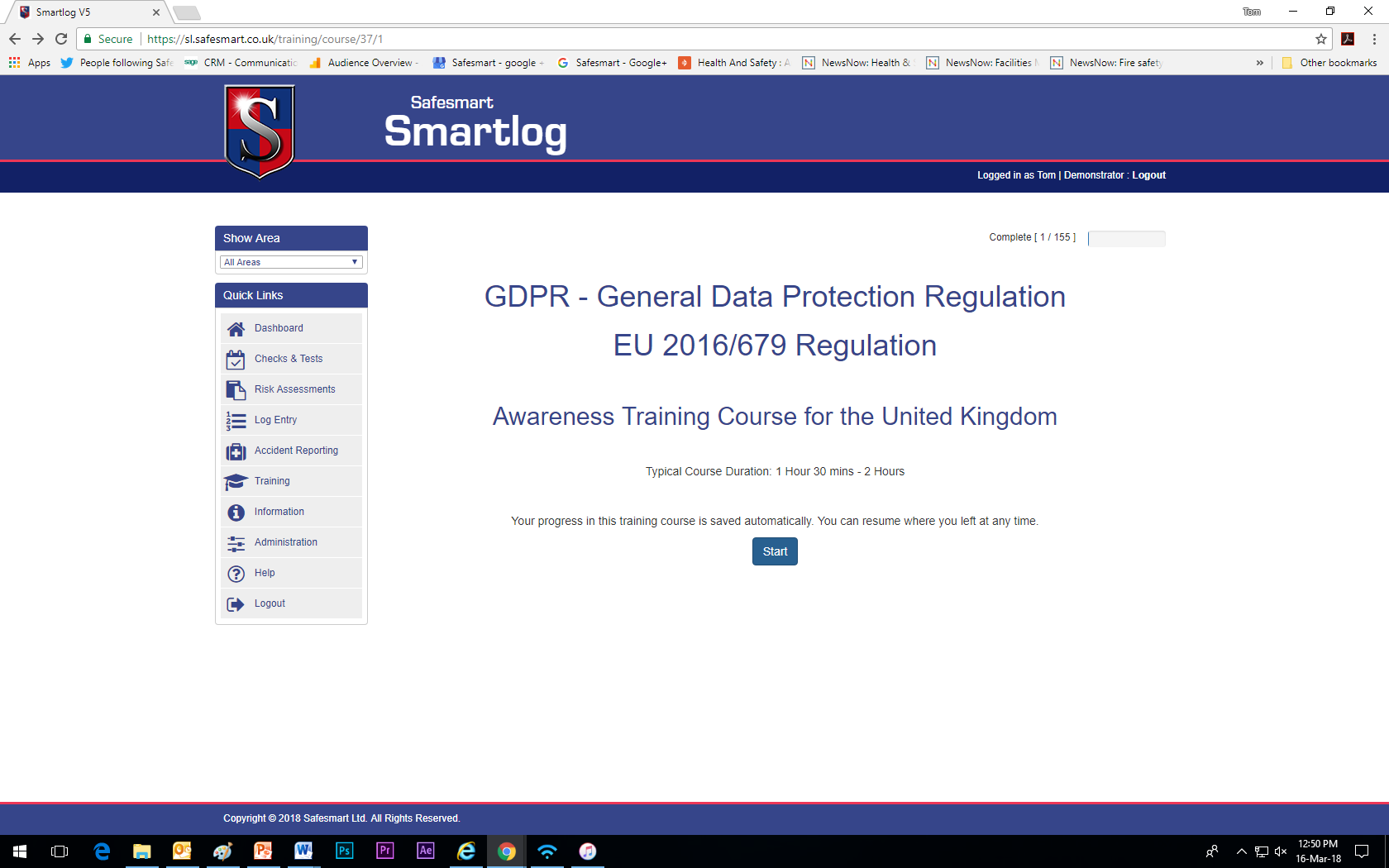 Online Gdpr Training Safesmart